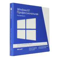Microsoft Windows 8.1 Professional RU x32/x64 BOX