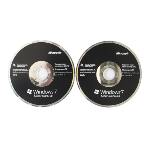 Microsoft Windows 7 Ultimate RU x32/x64 BOX