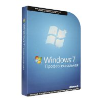 Microsoft Windows 7 Professional RU x32/x64 BOX