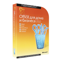 Microsoft Office 2010 Home and Business RU x32/x64 BOX